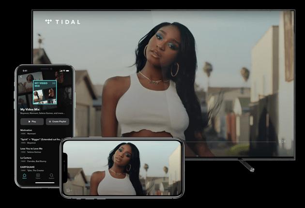 Tidal lancia My Video Mix