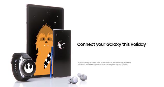 Samsung unisce con Star Wars le forze di due 'Galassie'