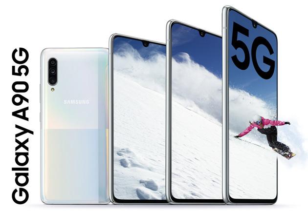 Samsung Galaxy A90 5G con sensore da 48MP nella tripla camera arriva in Italia