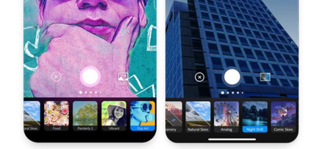 Adobe Photoshop Camera disponibile per iOS e Android