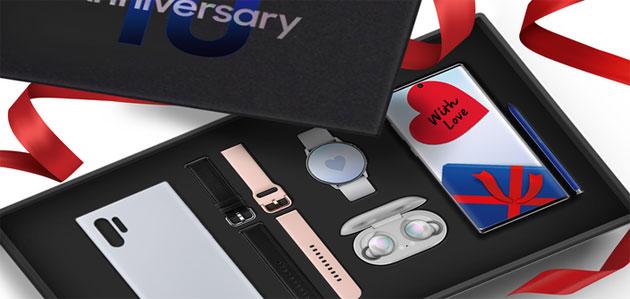 Samsung Galaxy Celebration Box in Italia per il 10o Anniversario della serie Samsung Galaxy