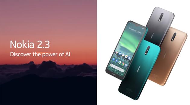 Nokia 2.3 con Android One e autonomia fino a 2 giorni in Italia ora disponibile