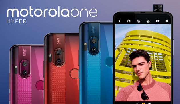 Motorola One Hyper con fotocamera a comparsa ufficiale