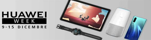 Huawei Week su Amazon con P30, Band 3 Pro e tablet in promozione