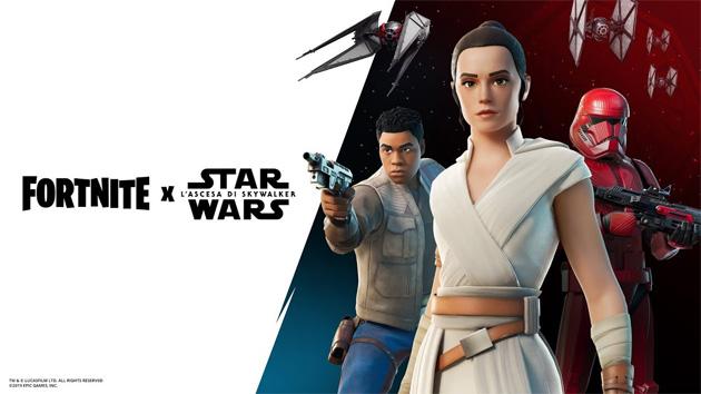 Star Wars su Fortnite per l'Ascesa di Skywalker