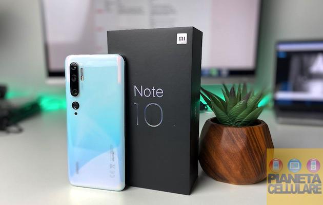 Recensione Xiaomi Mi Note 10, 108 mpx e batteria da 5260 mAh