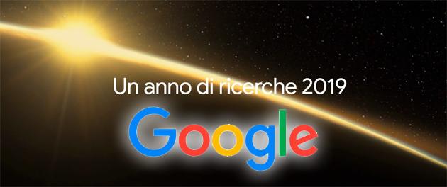 Il 2019 su Google: un anno di Ricerche in Italia e nel Mondo