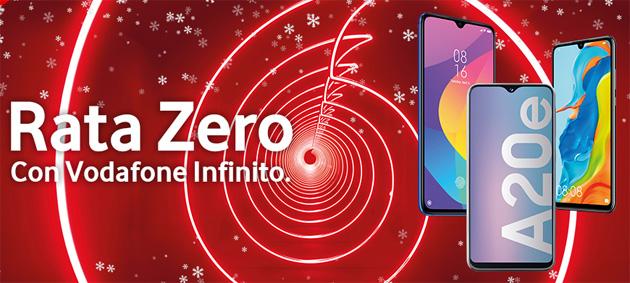 Con Vodafone smartphone a Rata Zero per Natale 2019