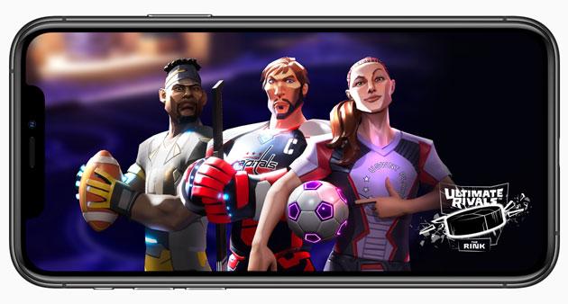 Apple lancia Ultimate Rivals, nuova serie di videogiochi sportivi su Apple Arcade