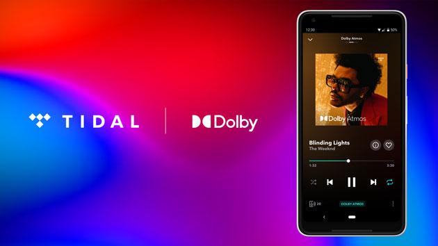 Il Dolby Atmos Music suona su TIDAL