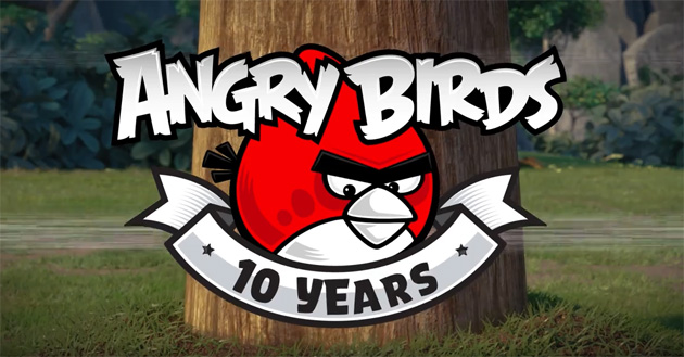 Angry Birds compie 10 anni