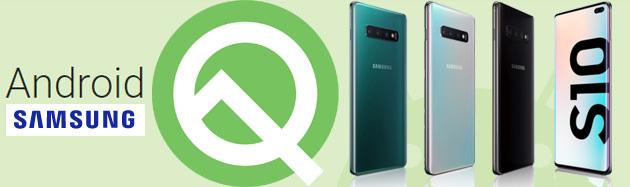 Samsung Galaxy S10, Android 10 con One UI 2 in Italia