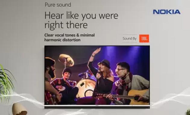 Nokia lancia Smart TV con Android 9 in India