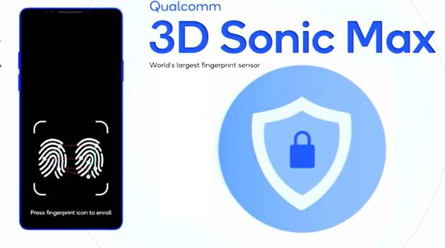 Qualcomm 3D Sonic Max abilita il rilevamento simultaneo di due dita sullo schermo del telefono