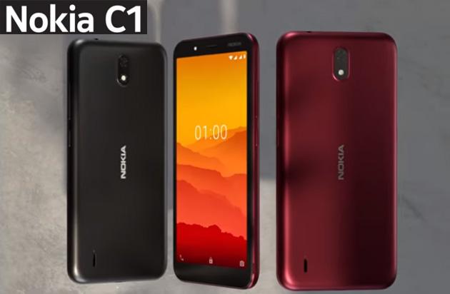 Nokia C1 ufficiale con Android Go, ideale per passare da 'telefono' al primo 'smartphone'
