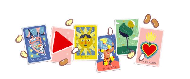 Il gioco della Loteria nel doodle di Google