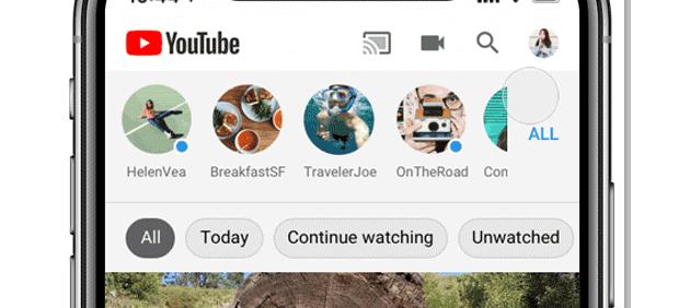 Youtube attiva sei nuovi Tag nel feed Iscrizioni