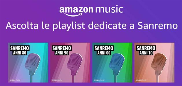 Amazon per Sanremo 2021 tra musica e Alexa pronta a commentare live il Festival
