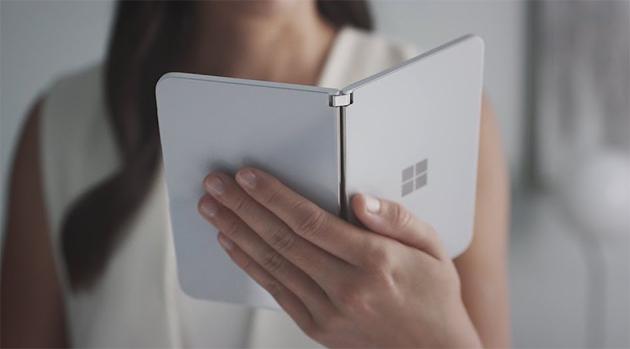 La visione di Microsoft dei dispositivi a doppio schermo