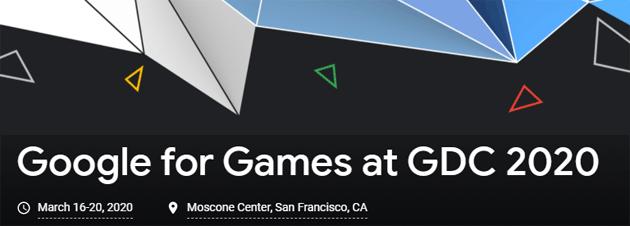 GDC 2020, Google annuncia il prossimo summit per sviluppatori di giochi