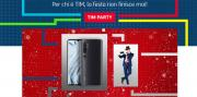 Foto Xiaomi Mi Note 10 in regalo con TIM Party