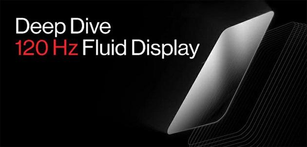 OnePlus presenta il suo Display Fluido con 120Hz di frame rate