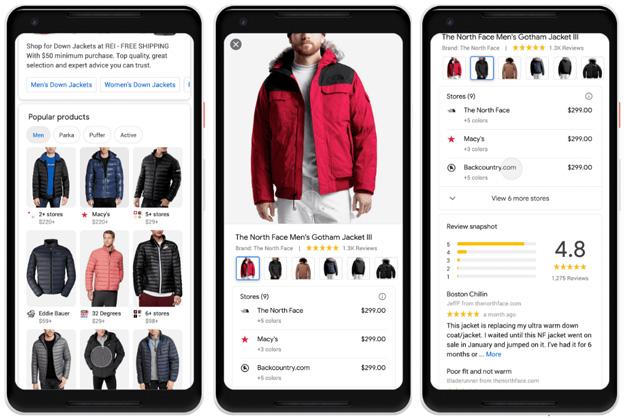 Google semplifica Ricerca e Acquisto online di vestiti, scarpe e altro da indossare