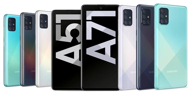 Samsung Galaxy A51 e A71: Foto, Specifiche e Prezzi in Italia (aggiornato: ora disponibili)