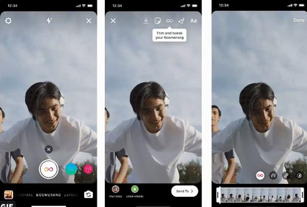 Boomerang di Instagram offre nuovi strumenti creativi
