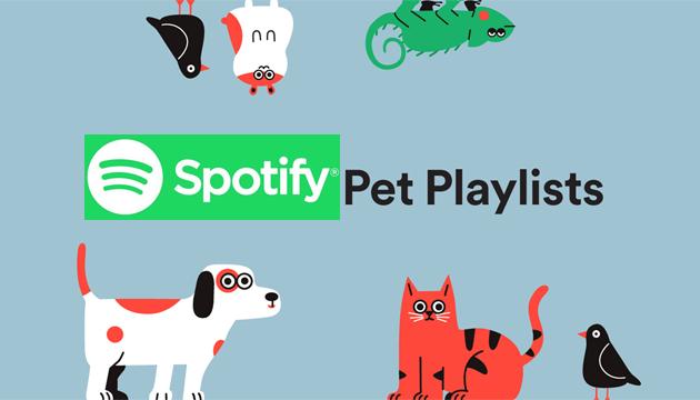 Spotify lancia le Playlist per Animali Domestici