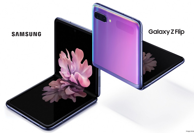 Galaxy Z Flip il nuovo telefono pieghevole Samsung: Specifiche, Foto, Video e Prezzo in Italia
