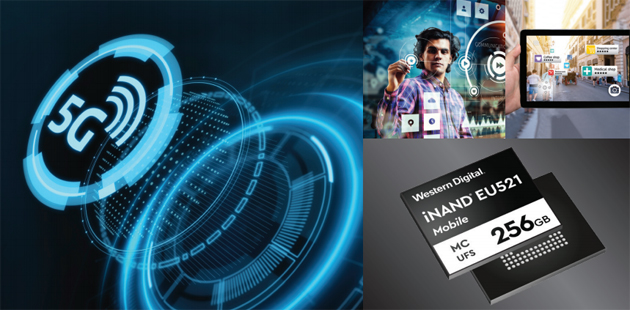 Wester Digital entra nel mondo del 5G con iNAND MC EU521