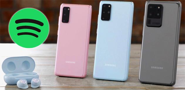 Samsung integra Spotify in Tastiera, Orologio e Bixby nei dispositivi Galaxy