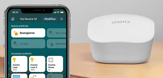 Amazon Eero compatibile con Apple HomeKit