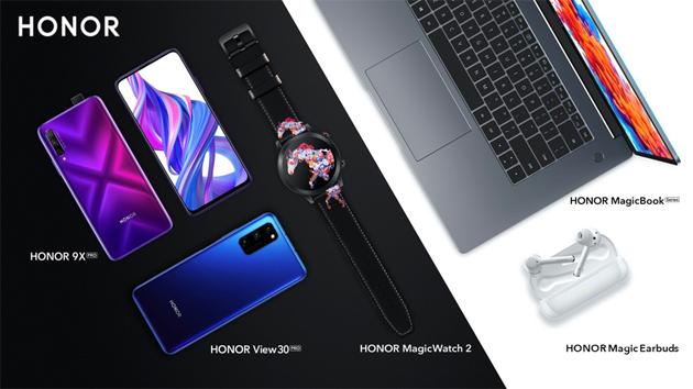 Honor 9X Pro, View 30 Pro, MagicBook e Magic Earbuds annunciati in Europa: Caratteristiche, Foto, Video e Prezzi
