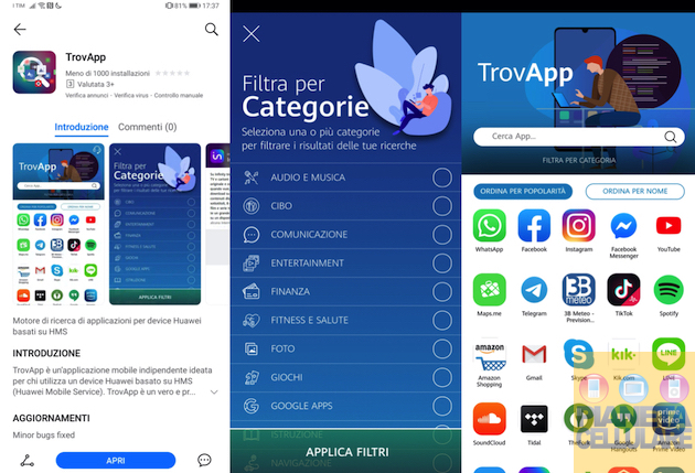 Trovapp, la soluzione definitiva per gli Smartphone Huawei senza Play Store