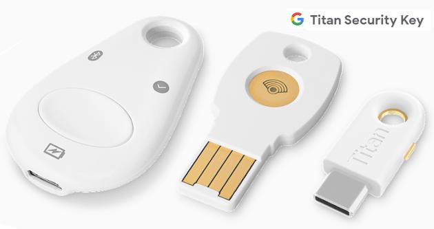 Token di Sicurezza Titan in vendita nel Google Store online italiano