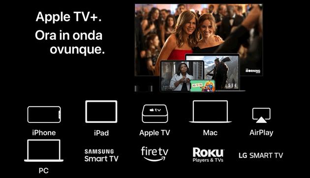 Apple TV Plus: dispositivi dove poter guardare i contenuti del servizio Apple, anche su Android (aggiornato)