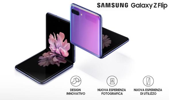 Samsung Galaxy Z Flip: le offerte degli operatori per acquistarlo anche a rate