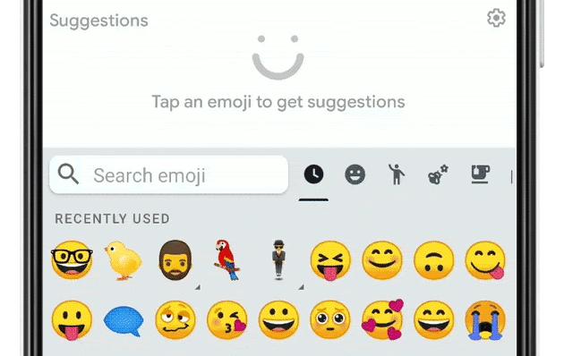 Gboard combina le Emoji per creare Adesivi personalizzati su Android