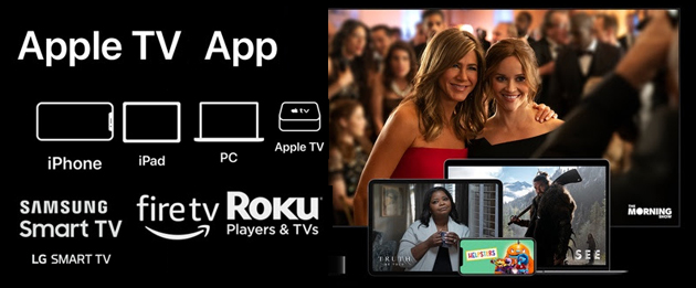 Foto Apple TV App: i dispositivi dove si trova disponibile