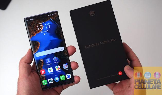 Recensione Huawei Mate 30 Pro, la prova di forza di Huawei