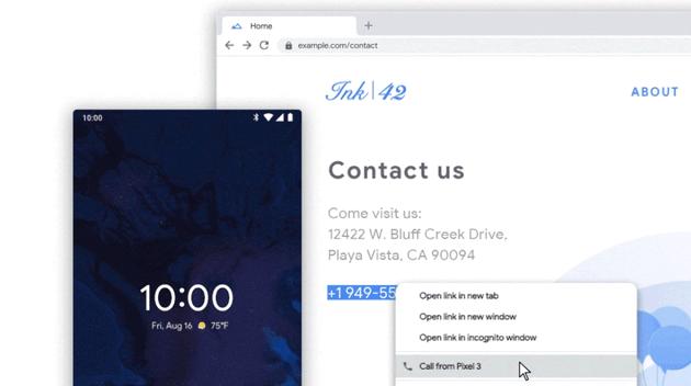 Android - Click to Call: come chiamare velocemente i numeri di telefono trovati sul web in Chrome