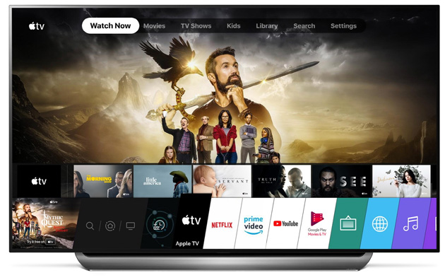 App Apple TV sui TV Lg con Dolby Vision (aggiornato: e Dolby Atmos)