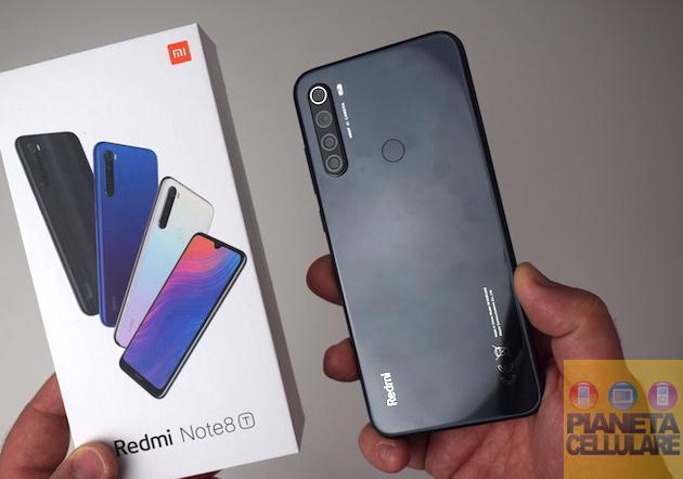 Recensione Xiaomi Redmi Note 8T, finalmente con NFC