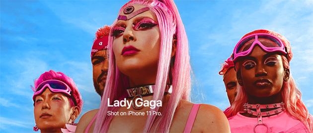 Con iPhone 11 Pro girato il video musicale 'Stupid Love' di Lady Gaga