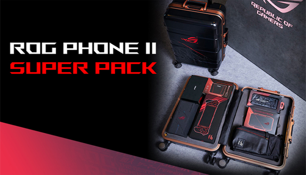 Super Pack Asus ROG Phone 2 disponibile in Italia: cosa contiene e quanto costa