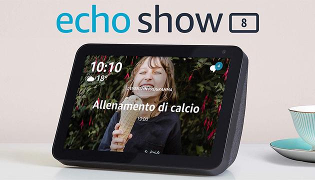 Amazon Echo Show 8 in Italia: Caratteristiche e Prezzo