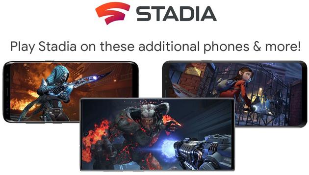 Google Stadia arriva su smartphone Samsung, Asus e Razer