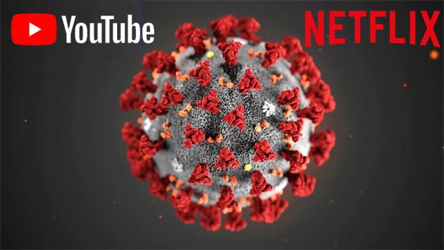 Youtube, Netflix, Amazon, Disney, Facebook e Apple riducono la qualita' dei video in streaming causa coronavirus COVID-19 (aggiornato)